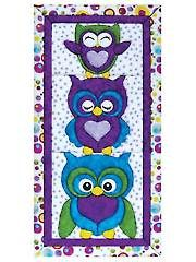 Stack Of Owls Quilt Magic Kit from AnniesCraftStore.com. Order here: https://www.anniescatalog.com/detail.html?prod_id=123822&cat_id=1430