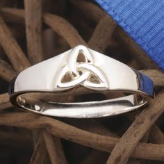 Open Trinity Knot Ring