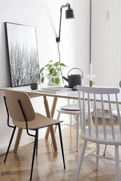 Søborg Chair designed by Børge Mogensen. Handcrafted in Denmark since 1952. Picture by Coco Lapine Design