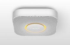The Nest Protect smoke and carbon monoxide alarm - beautiful design and high tech functionality. I love it!