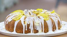 This lemon and poppy seed drizzle cake recipe is featured in Season 4, Episode 1.