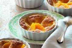 Arance e crema gratinate