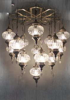 Chandelier Lamps, Ottoman palace shape frame, 16 glass Chandelier,Turkish Light, Hanging Lamp, Mosaic lighting,standing lamp, ceiling lamp