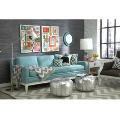 Electric Eclectic Style. Jonathan Adler did the decorating you just click and buy it! See at ProjectDecor.com