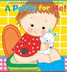 Picture books to help you potty train. Great list of books for potty training. Potty training is stressful enough for parents and kids. Try to make it fun! Toddler Books, Toddler Fun, Childrens Books, Kid Books, Story Books, Baby Books, Potty Training Books, Toilet Training, Educational Activities For Kids