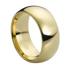 Tungsten Carbide Domed Gold-Plated Shiny Polish 9mm Wedding Band Ring, 12 Size Rings - Tungsten http://www.amazon.com/dp/B00AM142A6/ref=cm_sw_r_pi_dp_d7qzwb1ZPPM06