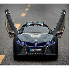 bmw i8 kids car limited vision kids black the ultimate limited edition kids car
