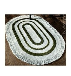 Crochet RUG Pattern Vintage 70s Americana Oval Rug Mat-Scatter Area Rug Floor Rug Crochet Rug Door Mat Boho Home Decor by Liloumariposa on Etsy https://www.etsy.com/listing/228225869/crochet-rug-pattern-vintage-70s