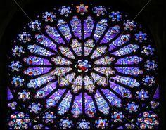 Rose Window:Basilique-Saint Denis Gothic Architecture