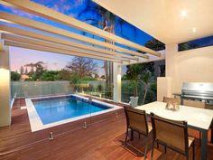 Pool Area Design modern alfresco pool area of a heritage house Pool Area Design