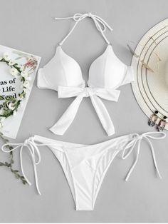 GET $50 NOW   Join RoseGal: Get YOUR $50 NOW!https://www.rosegal.com/bikinis/push-up-knot-detail-string-bikini-set-1987243.html?seid=4514413rg1987243