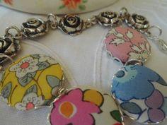 Shabby Chic Bracelet Armband von Happy Lilly auf DaWanda.com