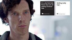 Cards Against Humanity: Sherlock Geek Out, Nerd Geek, 221b Baker Street, John Watson, Johnlock, Martin Freeman, Staying Alive, Like A Boss, Funny Pins