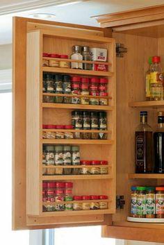 Kitchen remodel small - Best Small Kitchen Storage Ideas For Awesome Kitchen Organization – Kitchen remodel small Small Kitchen Organization, Small Kitchen Storage, Kitchen Small, Small Storage, Creative Storage, Diy Storage Rack, Storage Ideas, Organization Ideas, Storage Hacks