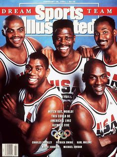 1992 Summer Olympics  Gold Medal  FIBA's landmark 1989 decision to allow professional hoopsters to compete in the Olympics led to USA Basketball's creation of the Dream Team, considered among the most illustrious collections of talent in the history of world sport. Charles Barkley averaged a team-high 18.0 points as the Americans steamrolled through the tournament in Barcelona with an average margin of victory of 43.8 points.