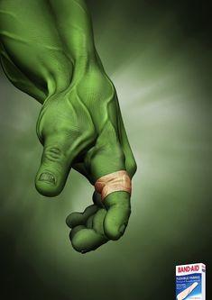 Banditas flexibles, si se ajusta a hulk, tambien a tì, no crees?.