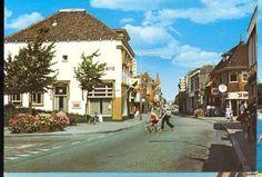 Hotel het Bruine Paard - Sassenheim (rond 1970). Gezien vanaf kruispunt met Hortuslaan in noordelijke richting.