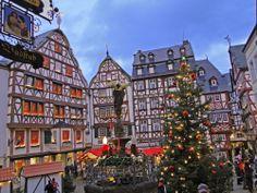 Bernkastel-Kues, Germany - December 2013