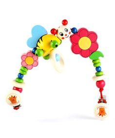 Look what I found on #zulily! HeidiKids Smiley Bee Stroller String by HeidiKids #zulilyfinds