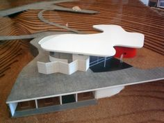 Casa das Canoas – Niemeyer's personal home in Canoas, Rio de Janeiro.1952, Oscar Niemeyer