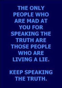 ❥ The only people who hate the truth