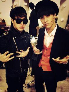 Kikwang & Dongwoon.      '