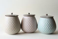 fruit shaped lidded jars