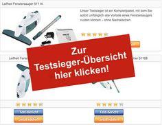 Leifheit Fenstersauger - Testsieger-Tabelle - Stoerer