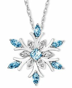 When It Comes To Quality Jewelry Advice, You'll Find It Here Kaleidoscope Sterling Silver Necklace, Blue Crystal Snowflake Pendant with Swarovski Elements – Necklaces – Jewelry & Watches – Macy's Cute Jewelry, Body Jewelry, Jewelry Necklaces, Jewelry Watches, Jewelry Tattoo, Bullet Jewelry, Geek Jewelry, Hippie Jewelry, Dainty Jewelry