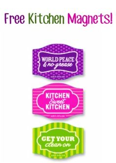 FREE Kitchen Magnets from Scotch-Brite! #magnets