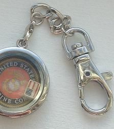 Neat gift for that Marine in your life!  Charming Incentives Floating Lockets Charms | LOCKET SETS  #USMC
