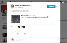 Genevieve Hannelius Verified account @G_Hannelius   Genevieve Hannelius Retweeted Breaking911 #StrongerTogether