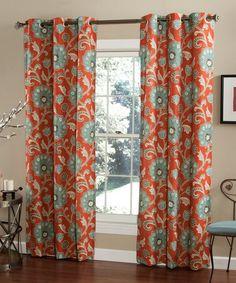 Another great find on #zulily! Cinnabar Ankara Curtain Panel - Set of Two #zulilyfinds