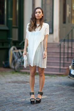 Stockholm Street Style Spring 2014_only the dress