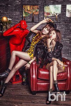 After School's Joo Yeon and Jung Ah bnt International 2013