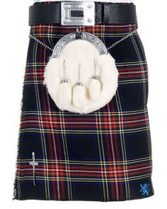 This is one of the most popular Scottish tartans in the world. Scottish Black Stewart Tartan Kilt is made from selected range of some of the Best Scottish tartans to offer you a quality garment at an excellent price but with no compromise in traditional quality.  #Tartankilts #Kilts #Kilt #ScottishKilt