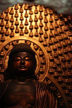 Shaka statue at Jofuku-ji temple, Japan