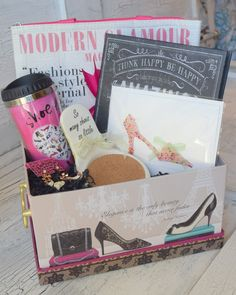 """Shoe Love"" Gift Basket"