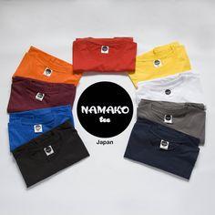 Kaos Polos Namako Tee Japan | Japan Tshirt | Kaos DTG.