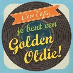 Lieve Paps, jij bent een golden oldie! #hallmark #hallmarknl#vaderdag #papa #pap#dad #liefde #love #goldenoldie