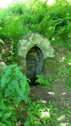 St Julitta's Well, or Juliots Well, north Cornwall, UK