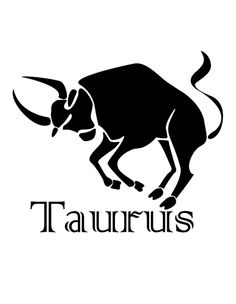 Taurus The bull Second sign of
