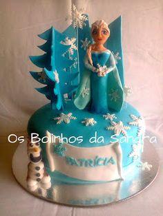 Os Bolinhos da Sandra: Frozen - Elsa