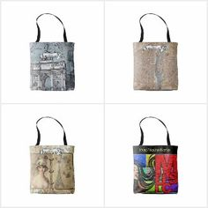 Female French teacher Gift Ideas - personalized totes