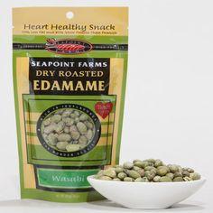 Dry Roasted Wasabi Edamame