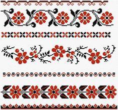 Cross Stitch   Ukrainian Borders xstitch Chart   Design