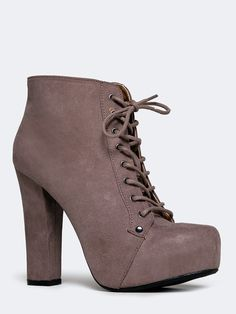 LACE UP BOOTIE | ZOOSHOO