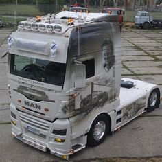 Customised Trucks, Large Truck, Show Trucks, Tamiya, Scale Models, Volvo, Cars And Motorcycles, Vehicles, Model Car