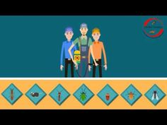 Pest Control 2D Animated Promo Video Spa Promo, Glue Traps, Duct Cleaning, Oil Change, Pest Control, 2d, Animation, Animation Movies, Anime