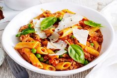 This quick and easy one-pot penne bolognese is the perfect way to get the family to eat their vegies!